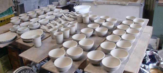 30-day Pottery Making in Seto – Tea Ceremony Utensils specialty