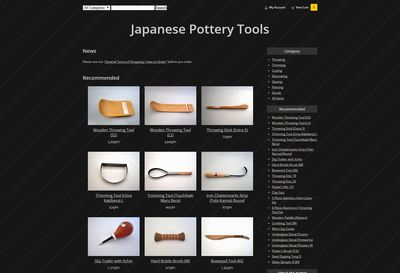 Japanese Pottery Tools